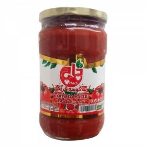 رب گوجه شیشه 1 کیلوگرمی چاچ